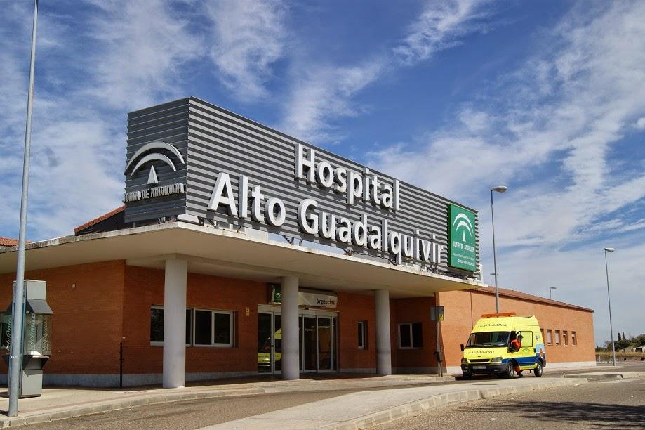 Uno de los heridos ha sido trasladado al hospital Alto Guadalquivir.