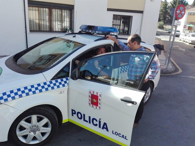 Coche de la Policía Local de Úbeda.