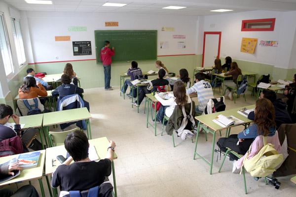 Imagen de una clase en un centro educativo de Jaén. FOTO: Archivo