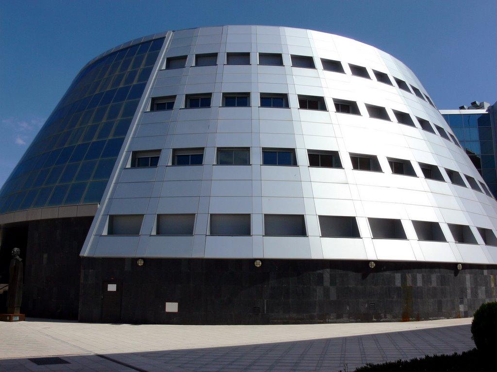 Edificio de la Universidad de Jaén.