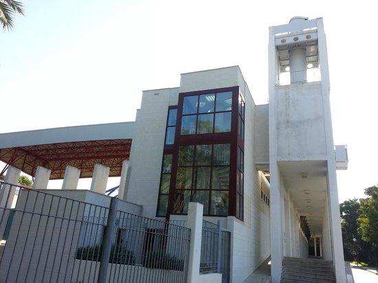 Camara Oscura de Capuchinos en la Alameda Adolfo Suárez.