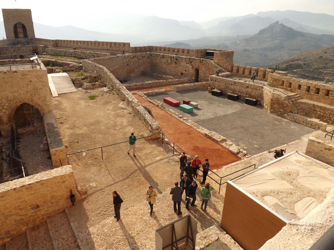 Imagen del interior del Castillo de Santa Catalina. Foto: Archivo