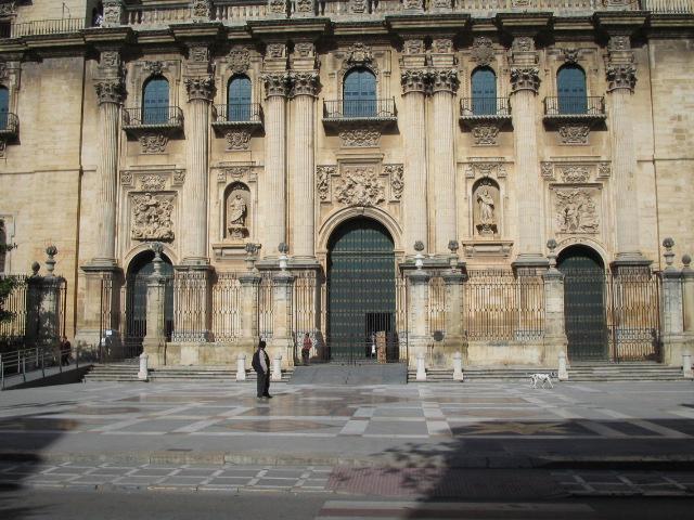 Fachada de la Catedral de Jaén.