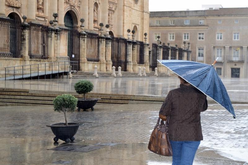 La lluvia y el frío serán protagonistas