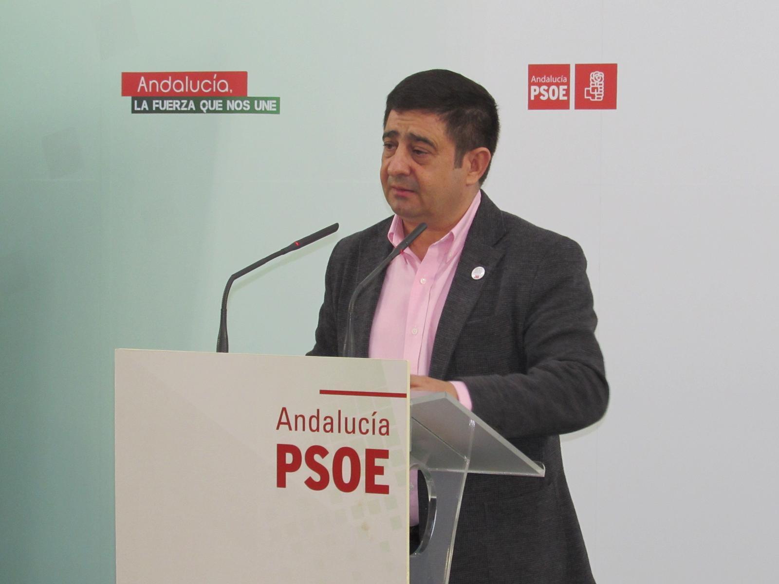 Francisco Reyes, secretario provincial del PSOE de Jaén.