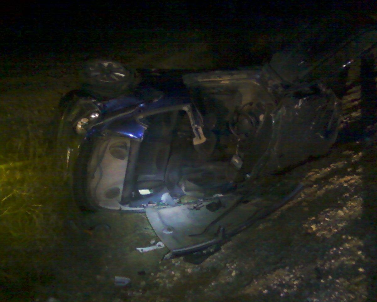 Accidente de un vehículo en las carreteras de Jaén. FOTO: ARCHIVO