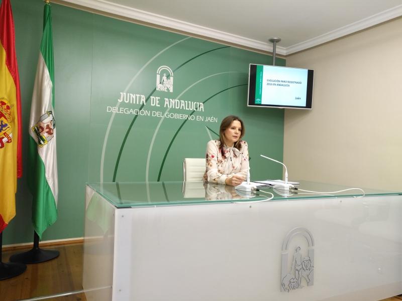 Ana Cobo, delegada del Gobierno de la Junta de Andalucía en Jaén, reitera el compromiso con toda la provincia.