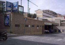 Entrada del aparcamiento de Peñamefécit. FOTO: Archivo