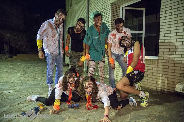 Una de las experiencias zombies en este caso realizada en La Carolina. FOTO: Archivo