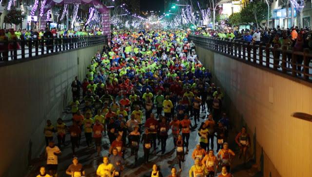 Corredores de la carrera de San Antón.