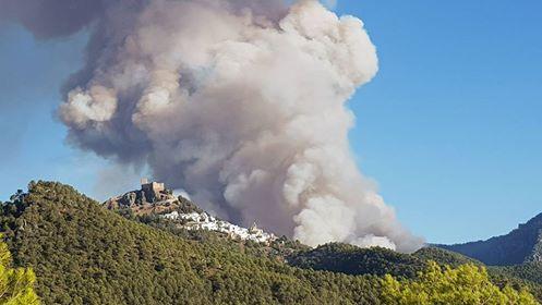 Incendio de Segura que calcinó más de 680 hectáreas.