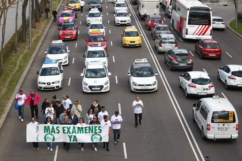 Más de dos mil exámenes no se han celebrado en Jaén por la huelga