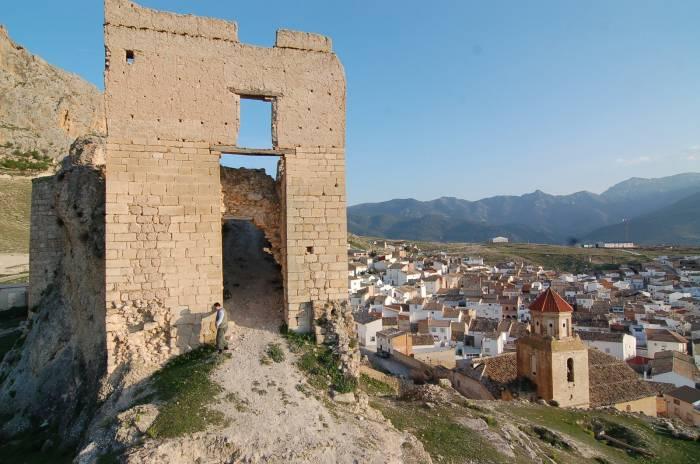 Castillo de Bedmar donde se centrará el campo de voluntarios arqueológico.