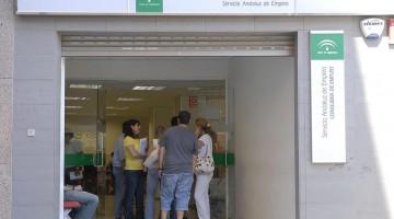 Oficina del Servicio Andaluz de Empleo de la Junta de Andalucía en Jaén.