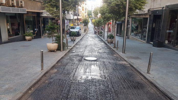 Calle Rastro de obras