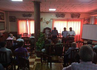 El presidente de Diputación; Francisco Reyes, participa en las jornada de cordero segureño