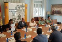 Reunión de coordinación para la organización de los dispositivos de seguridad