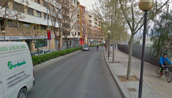 Imagen de la Avenida de Granada en Jaén