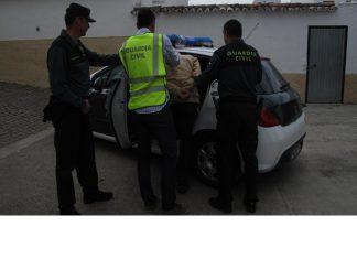 Un detenido por la Guardia Civil de Jaén.
