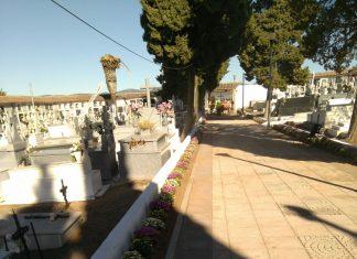 Mejoras en el cementerio de La Carolina