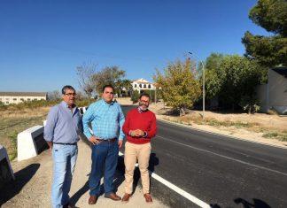 Valdivielso visita la mejora de la seguridad en los accesos a Martos