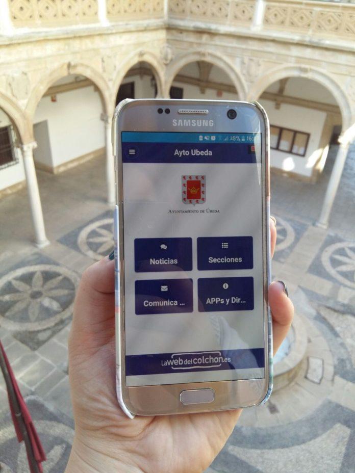 Aplicación movil Alertalia del ayuntamiento de Úbeda