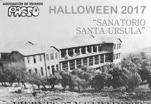 Cartel Halloween 2017 de la Asociación de Vecinos Passo