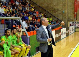 Dani Rodríguez, entrenador del Jaén Paraíso Interior