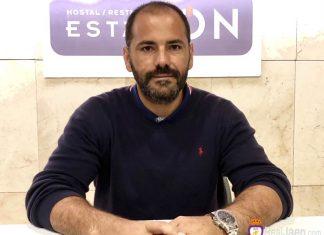 Salva Ballesta, entrenador del Real Jaén