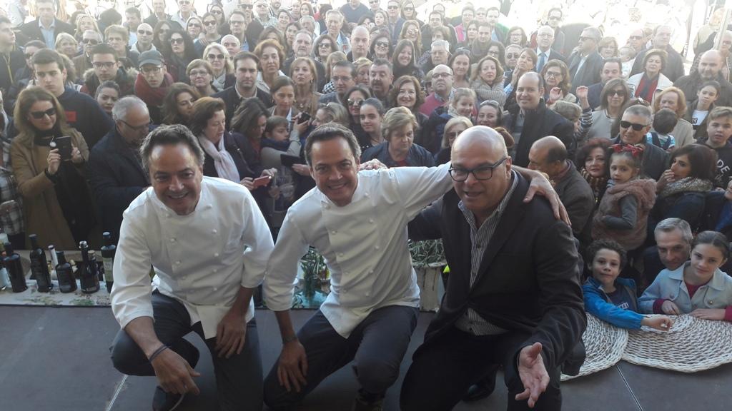 20171119 IV Fiesta Primer Aceite Jaén - Demostración cocina en vivo ...