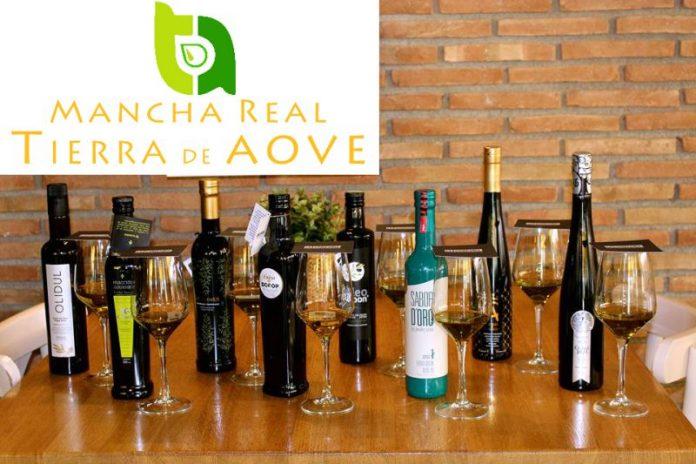 Diversos aceites de oliva virgen extra del municipio de Mancha Real.