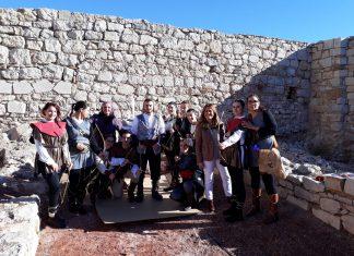 Actividad de la UJA en el Castillo de Santa Catalina.