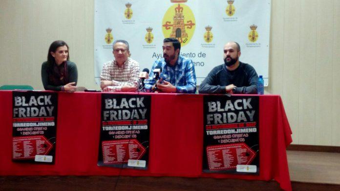Campaña Black Friday en los comercios de Torredonjimeno.
