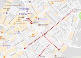 Nuevos cambios en el tráfico en algunas calles de San Ildefonso y La Alcantarilla.