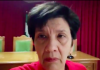 La mujer del ex alcalde en el video que ha publicado en redes sociales.