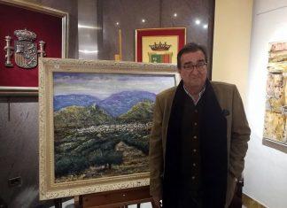 Exposición de Gil Yebra en el colegio de Abogados de Jaén.