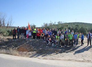 Participantes de la Ruta de la Batalla de Lopera.