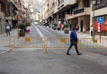 Una de las calles del centro.