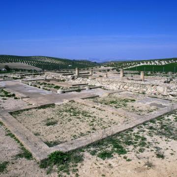 Villa romana de Bruñel en Quesada.