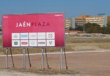 Solar donde se va a construir el Jaén Plaza.