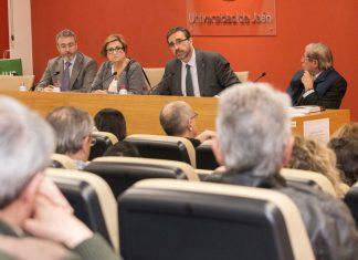 Presentación del primer libro de la editorial de la Universidad de Jaén