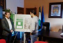 El delegado de Medio Ambiente con el alcalde de Cambil.