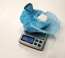 Cocaína incautada por la Policia Local y Guardai Civil de La Carolina.