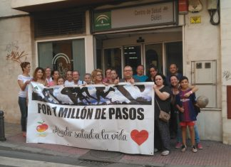 Participantes Por un millón de pasos de Belén San Roque.