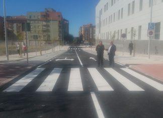 Señalización de la calle Cataluña.
