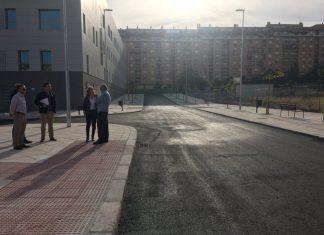 Terminación de las obras en la calle Cataluña.