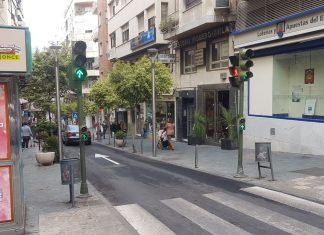 Calle Rastro en el centro de la ciudad.