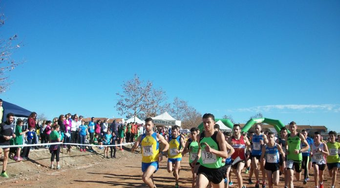 Carrera de cross en Jaén