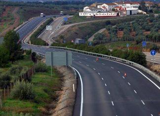Autovía A-4 a su paso por la provincia de Jaén.