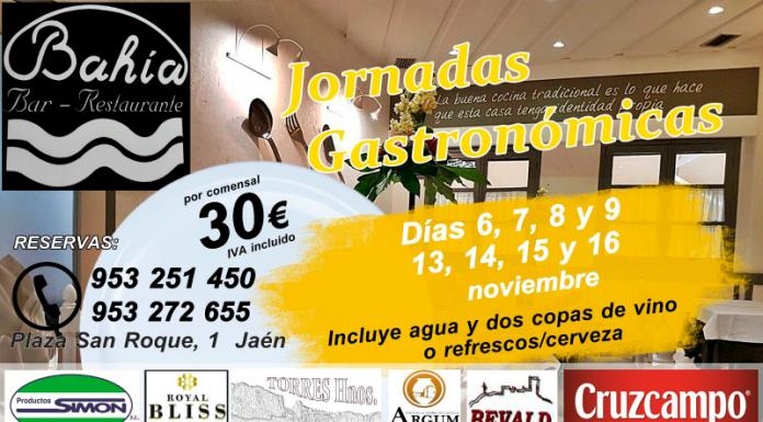 Jornadas gastronómicas en el restaurante Bahia.